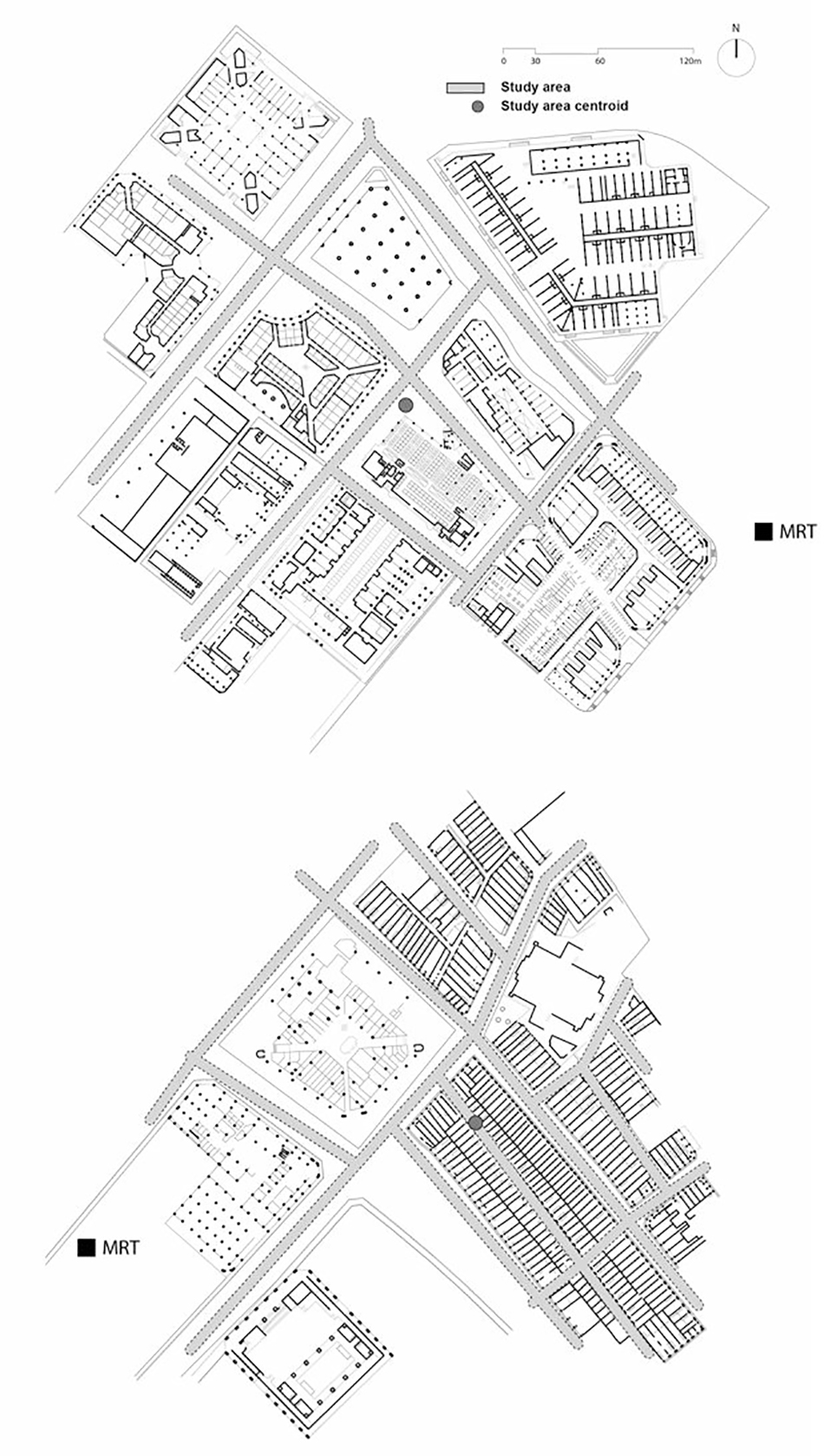 Evidence Based Design Journal Urban Network Analysis Diagram Of A Architecture In Multistory Building Fig05 Singapore Case Studiestop Albert Centre And Bottom Haji Lane District Image By City Form Lab