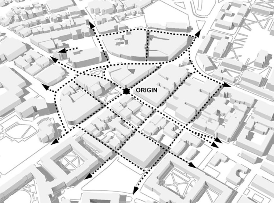 Permeability urban design images for Definition of form and space in architecture